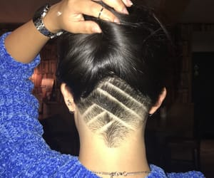 patterns, stripes, and undercut image