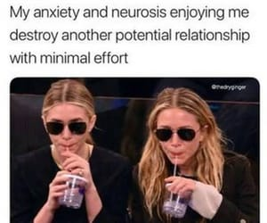 anxiety, meme, and reaction image