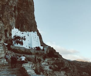 church, Greece, and summer image