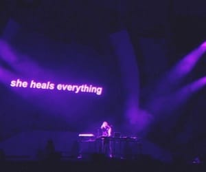 aesthetic, heal, and purple image