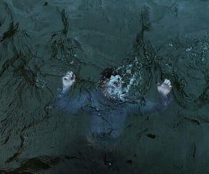 water, grunge, and sad image