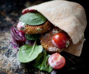 arabian, breakfast, and falafel image