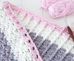 baby, crochet, and pastel image