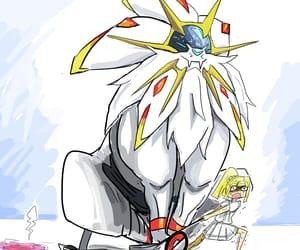 funny, moon, and pokemon image