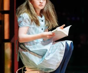 stage, matilda wormwood, and matilda the musical image