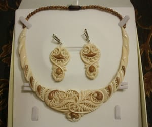 carved, ivory, and jewelry image
