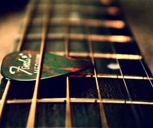guitare, musique, and photography image