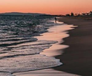 background, lockscreen, and beach image
