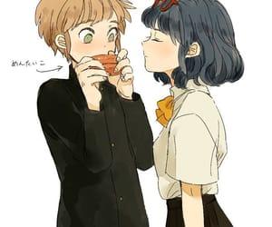 anime, anime couple, and tachimukai yuuki image
