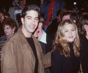 friends, 90s, and celebrity image