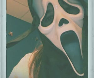 Halloween, scream, and skeleton image