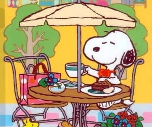 snoopy and cute image