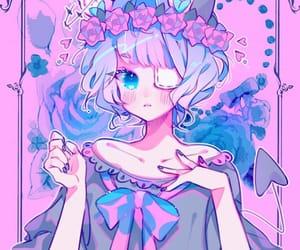 anime, anime girl, and cute girl image