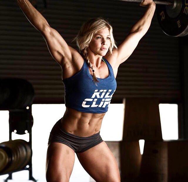 crossfit and brooke ence image
