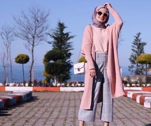 hijab, fashion, and محجبات image