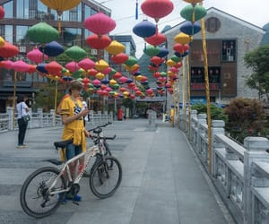 asia, travelblogger, and lampion image