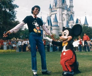 disneyland and michael jackson image