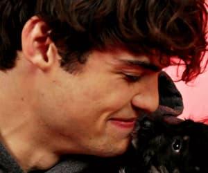 adorable, boy, and kiss image