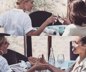 bella, celebrity, and dinner image