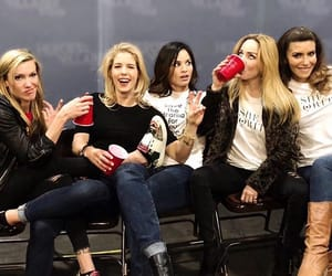 arrow, katrina law, and emily bett rickards image