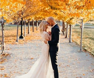 autumn, couple, and couples image