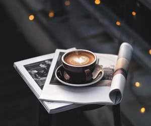 chic, style, and coffeelover image