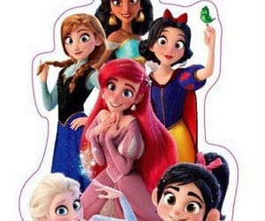 anna, ariel, and frozen image