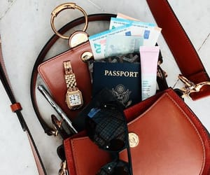 passport, fashion, and lifestyle image