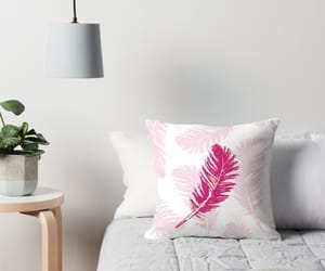 cushion, feather, and pillow image