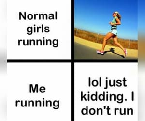 funny, lol, and running image