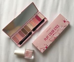 pink, makeup, and beauty image