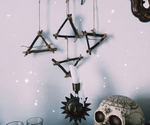 altar, Halloween, and pagan image