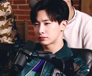 gif, reaction pic, and monsta x image