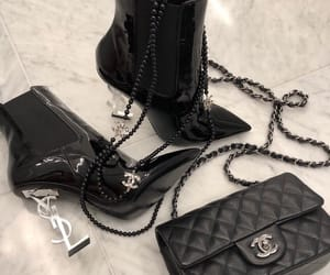 fashion, boots, and chanel image