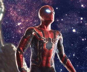 Avengers, spider-man, and peter parker image