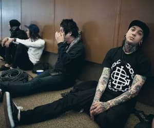 band, mike fuentes, and pierce the veil image