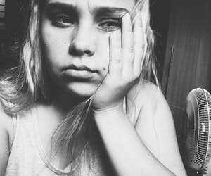 black, bored, and girl image