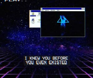 80s, aesthetic, and cyber image