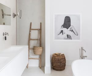 art, bathroom, and design image