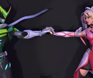 mercy, gency, and genji image