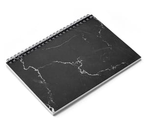 marble, notebook, and white marble image