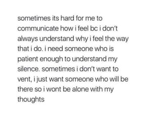 alone, vent, and communication image