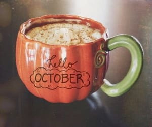 october, autumn, and coffee image