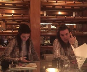 Harry Styles, kendall jenner, and one direction image
