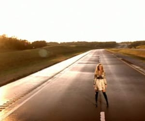 country, road, and love image