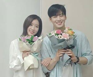 couple, Korean Drama, and astro image