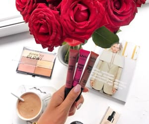 cosmetics, flowers, and goals image