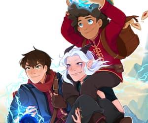 anime, netflix, and the dragon prince image