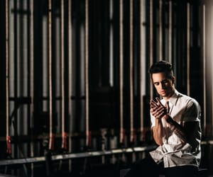 brendon urie, panic at the disco, and panic! at the disco image