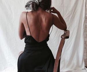 brunnette, fashion, and girl image